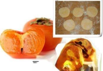 食用柿子面饼可以治胃寒