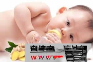 鲜姜贴肚脐可治婴幼儿拉稀