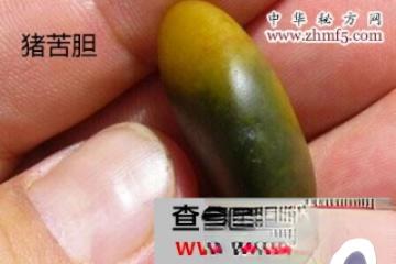绿豆塞入猪苦胆,服用可治胆囊炎!