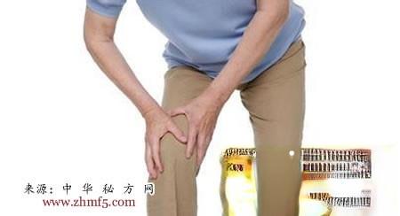 治疗老年退行性膝关节炎的名方