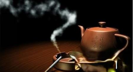 防治吸入二手烟,喝杯好茶解烟毒(包括厨房油烟等)