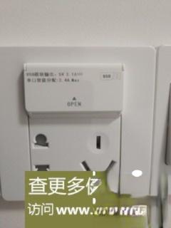 自己动手,换掉带开关的USB墙壁插座