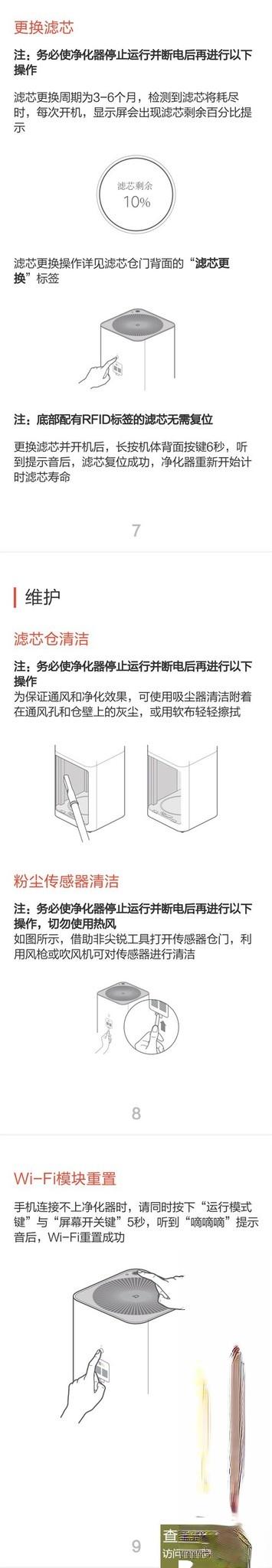 米家空气净化器Pro使用说明书